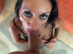 Have a look at this hardcore scene where the busty Persia Munir ends up with her mouth filled by cum in this hardcore POV after she's fucked silly by a big cock.