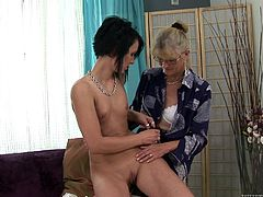 Two fiery sluts having steamy hot lesbian sex as they suck, lick and finger each other's wet pussies in this arousing scene right here. Hit play for dykes!