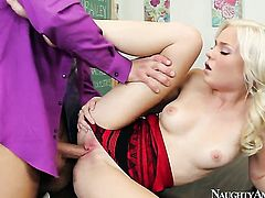 Bill Bailey bangs Angelic oriental harlot Chloe Foster as hard as possible in hardcore action