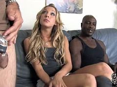 Wesley Snipes is the dude with a big black cock that Amy Brooke's boyfriend brought for her. She took his cock mainly in her ass hole, while her cuckold was wearing a chastity device.