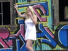 Charming Alison Angel And Her Hot GF Go Wild Outdoors