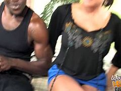 Teri Weigel had to pay her son's debt with her cunt because he couldn't pay two black guys back. Teri pleased their black cocks as good as she could for her son.