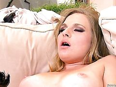 Peter North is one hard-dicked guy who loves oral sex with Katie Zane
