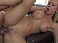 Have fun with this hardcore scene where you'll be hearing the beautiful Jessica Lynn moan as she's fucked by a big cock.