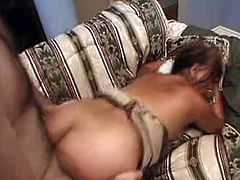 Hard banged grandmother