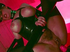 Watch how this lusty female dominates her guy during top femdom porn