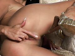 Aletta Ocean dreaming about real sex with real man with her fingers in her honeypot