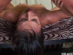 Nadia styles gets her throat spectacularly banged