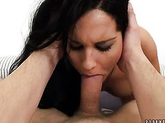 Teen Bettina Dicapri and hot blooded guy have oral sex for camera for you to watch and enjoy
