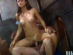 Steaming hot angel Stephanie Swift will be amazing her man at a high level! That blowjob was wicked good and now her twat gets it.