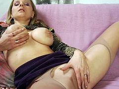 Check out dazzling milf getting her holes pumped in a hardcore spectacle