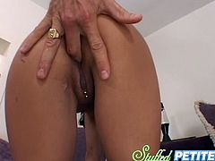 Slutty and well shaped brunette Lela Star fucks with a stunt.