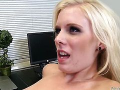 Peter North fucks Prettied up temptress in her mouth as hard as possible in oral action
