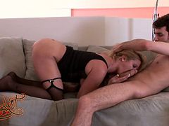 Make sure you have a look at this hardcore scene where the cock thirsty blonde babe Ginger Lynn is fucked silly by the savage James Deen.