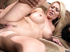 Mark Anthony has fantastic anal sex with Ashley Winters after she gets her throat fucked