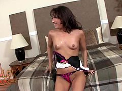 Make sure you take a look at this hardcore scene where the horny Asian babe Jesse Jorden is fucked silly by this guy's thick cock as you can clearly see she's having a great time.