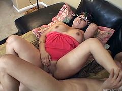 Make sure you have a look at this hardcore scene where the horny Indian babe Chumundra is fucked silly by this guy.
