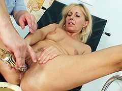 All that pussy stretching caused her great squirting sensations