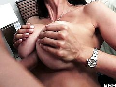 Mick Blue stuffs his love stick in Horny Shay Sightss ass before throat job