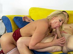 Check out this hardcore scene where the sexy blonde milf Mellanie Monroe is fucked sill after showing the camera her sexy body.