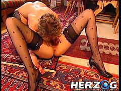 Curious how sluts fucked back in the old times? surely sex was dirtier back then so that's why we like Herzog videos. Here you can find a wide collection of oldies but goldies so let's start with these slutty lesbos. Enjoy seeing them fuck in 69 after a cup of coffee and what other things happen next.