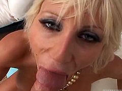 MAke sure you have a look at this hardcore scene where the slutty blonde Puma Swede ends up with a mouthful of cum after being fucked in POV.