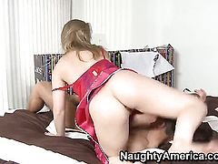 Danny Wylde gets pleasure from fucking Sunny Lane in her cunt