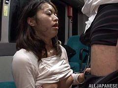 sloppy blowjob on tokyo subway