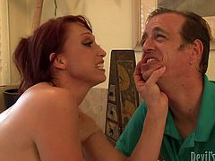 Make sure you have a look at this hardcore scene where the horny Nikki Hunter is fucked by a big black cock as her husband watches.