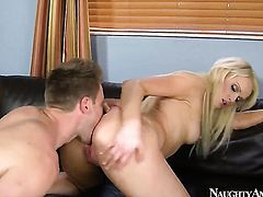 Asian Zoey Paige with tiny ass and shaved snatch and hot guy Levi Cash are horny for each other