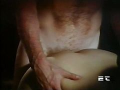 Kinky and slutty girl with dark hair and in sexy stockings gets her dripping hole fucked hard. Have a look in steamy The Classic porn sex clip.