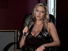 Karina Shay is a famouse porn star with big boobs and great desire to reveal all hidden secrets of her dirty job which she really likes and gets pleasure from it