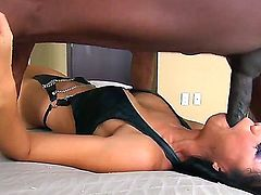 Beautiful and amazing interracial fuck with Prince Yahshua and Tia Ling, this naughty Asian chick is simply enjoying being fucked right in her dirty mouth with a very big dick.