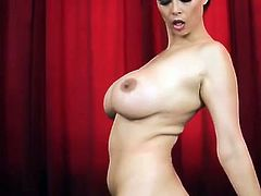 Tera Patrick is readyo to drive you crazy with this hot solo scene as she shows off her amazing body while wearing pantyhose.