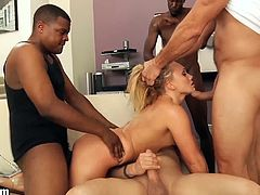 HardX brings you a hell of a free porn video where you can see how the blonde slut AJ Applegate gets gangbanged very hard by Ramon Nomar, Eric John, Chad Alva, Ike Diezel and Bill Bailey.