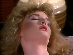 Filthy light haired slut polishes the pussy of dark haired girl and then gives a blowjob to her dude. Have a look at this slut in The Classic Porn xxx clip.