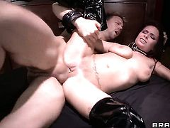 Ashley Graham cant live a day without getting fucked by hard dicked guy Erik Everhard