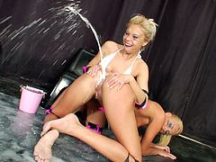 Blonde Ivana Sugar fucks her sister