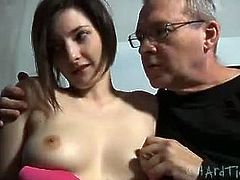 Tegan Mohr thinks she's tough, but she will soon find out that she had no idea what BDSM meant. PD takes her to his dungeon after he teases her at his place.