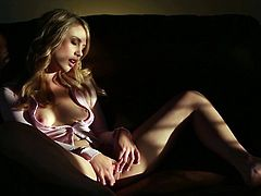 How not to love this beauty when playing naughty with her creamy vag