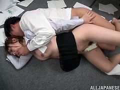 Don't watch this unless you are a perverted mother fucker who likes to see how Asian babes are forced to have sex with evil men in an office.