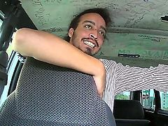 Bang bus action with a naughty and passionate girlfriend named Sofia Ressen