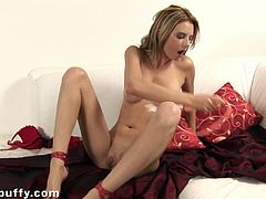 Petite Solo Modal Toys Her Pussy and Hot Ass to Get Off