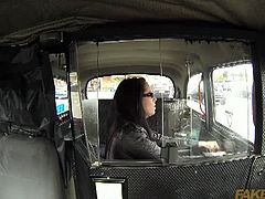 Fake Taxi brings you a hell of a free porn vide where you can see how a hot brunette gets banged hard inside a taxi while assuming some very interesting poses.