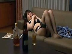 Thief desires satisfied (sexy lingerie Wife)