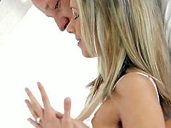 Tracy sucks and receives daddy's dick on the floor. He may be old enough for her but her body is still craving for his mature cock and the satisfaction he can give her.