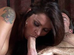 Having her wet vag drilled so fine makes hottie to moan like crazy