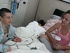 Gorgeous and sexy lesbians Belladonna and Kristina Rose are ready for an awesome scene