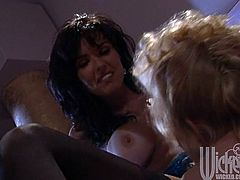 Have fun with this amazing lesbian scene compilation where these busty babes have an amazing time pleasing each other.