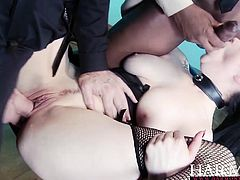 Horny girl loves getting a good rough fucking